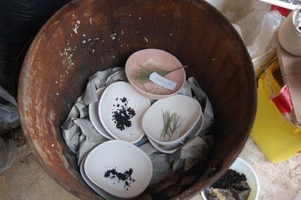 Barrel-Fired Ritual Bowls