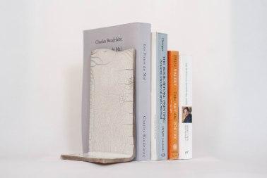 Raku-fired Book Support